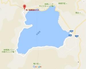 本栖湖地図
